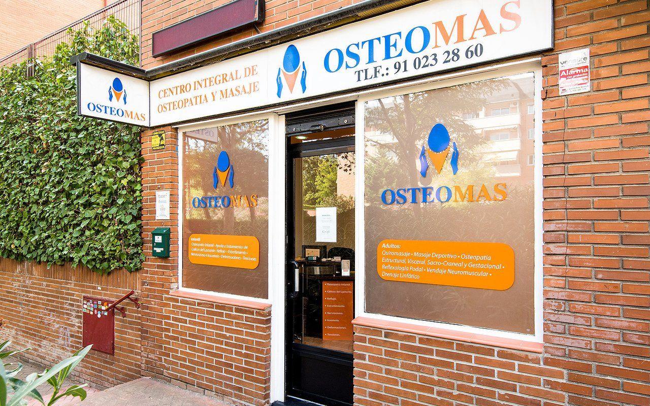 Fachada Osteomás osteopatía osteópatas Alcobendas
